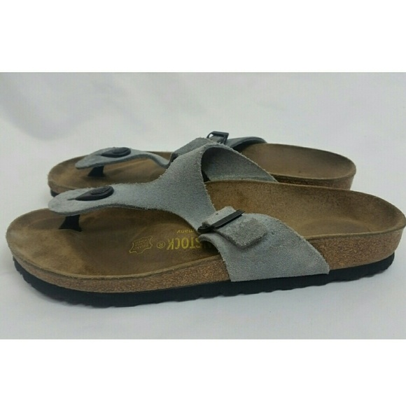 92248a7f2be3e Birkenstock Shoes - 🌸Birkenstock Unisex Thong Sandals 38 L7 M5